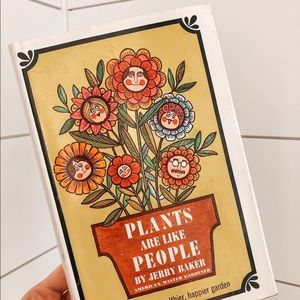 Vintage Accents - Vintage Plants Are Like People Book